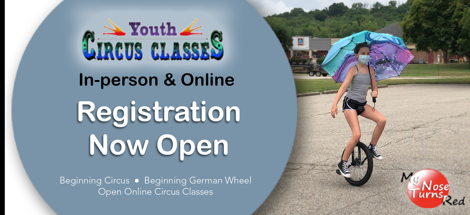 Registration for Fall Circus Classes is Open!